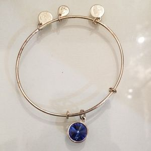 Alex and Ani Sapphire Swarovski® Bangle